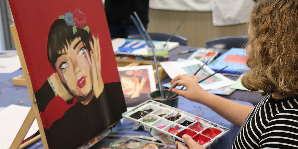 Painting Class Wednesday 8th January 1pm - 4pm