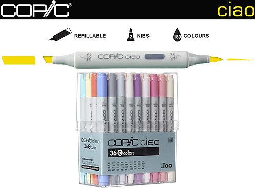 COPIC CIAO Set 36C Fashion Colours