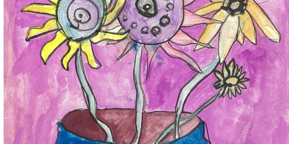 Van Gogh Inspired Art Workshop (Prep - 2) - Thurs 8th July 9am - 11am