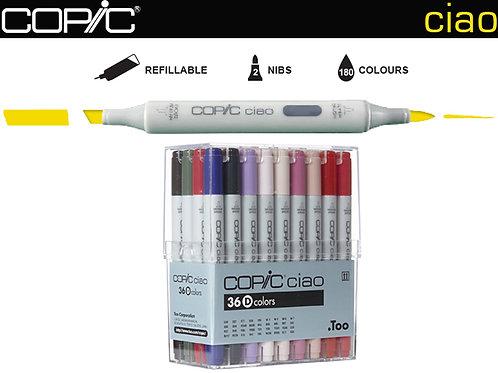 COPIC CIAO Set 36D Manga Colours