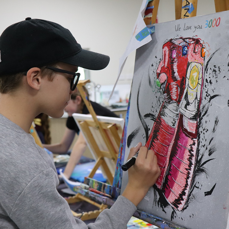 Painting Class - Tuesday September 28th 9am-12pm (Grades 1+)