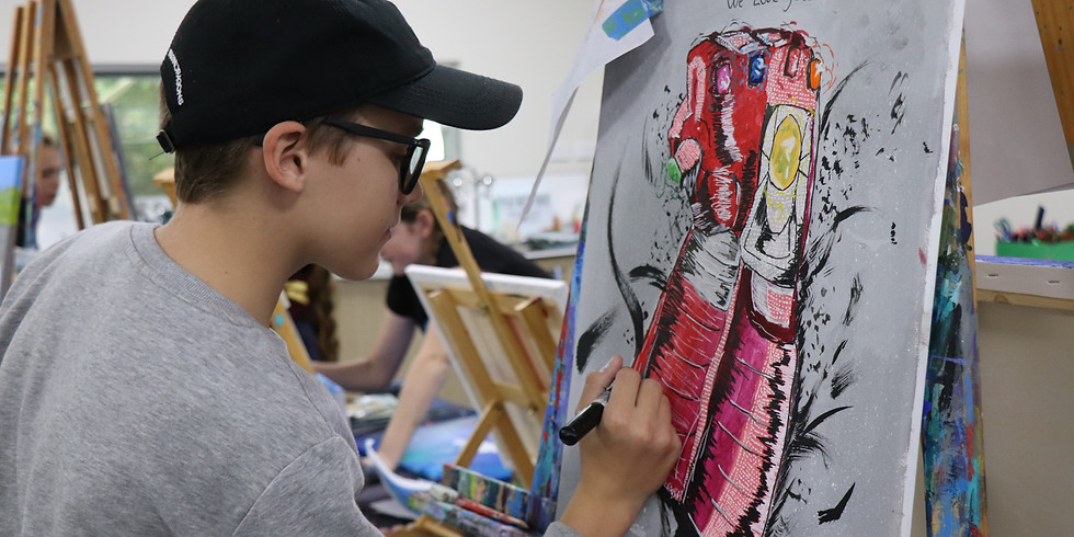Painting Class Saturday 27th February - 9am-12pm (Grades 1+)