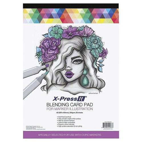 X-Press It Blending A3 Card  20 sheets