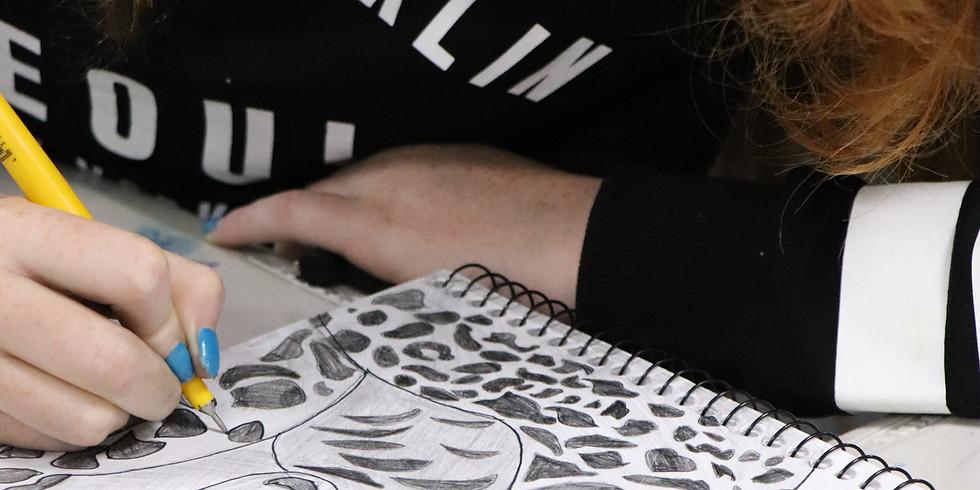 Drawing Skills Workshop - Thursday 26th September 9am - 12pm