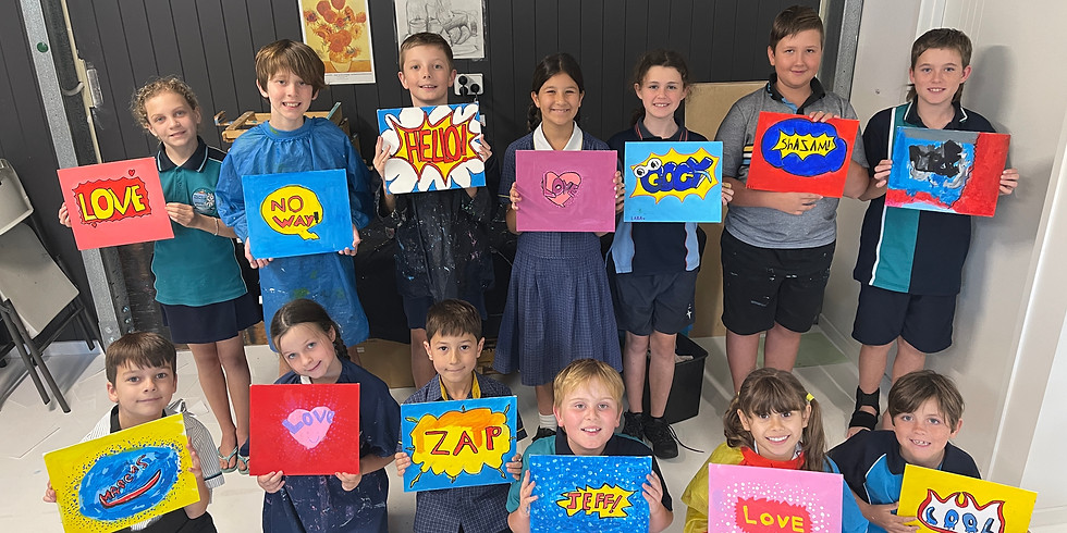 After School Art Class Term 4:  Years 3-6 TUESDAYS 4pm -5pm, Weeks 1-9