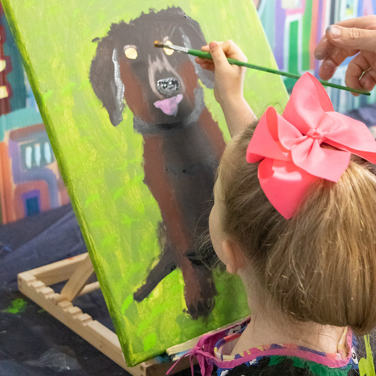 Painting Class - Tuesday September 28th 1pm-4pm (Grades 1+)