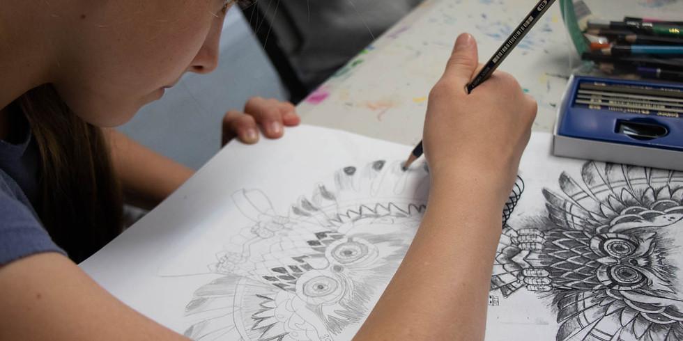Drawing Skills Workshop - Thursday 9th July 1pm - 4pm