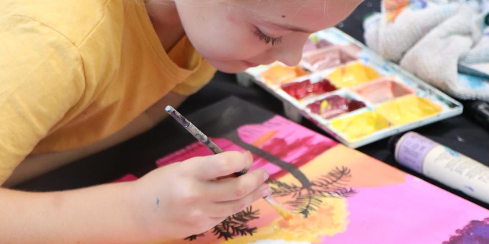 Painting Class Monday 12th April - 1pm-4pm (Grades 1+)