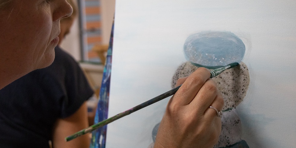Adult 'Sip and Paint' Class - Saturday 20th February 2pm - 5:30pm