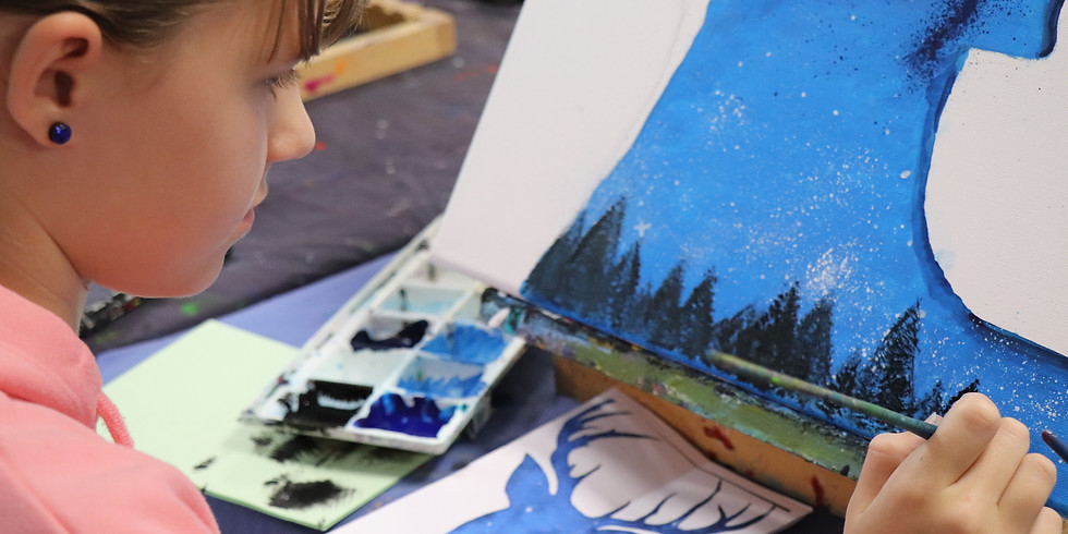 Painting Class Monday 6th January 9am - 12pm