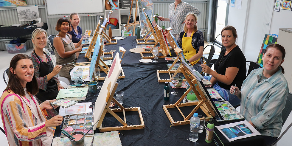 Adult 'Sip and Paint' Class - Saturday 27th November 2pm - 5:30pm