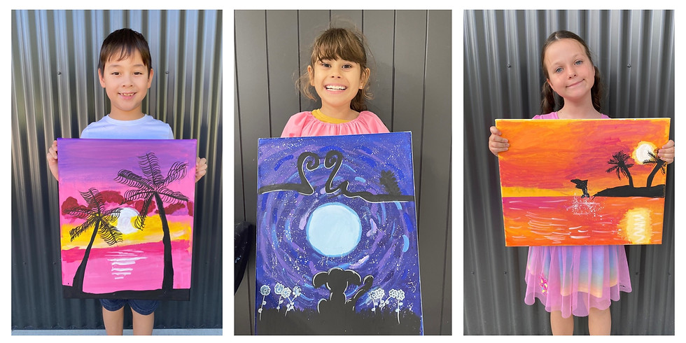 Silhouette Painting Class Monday 2nd August