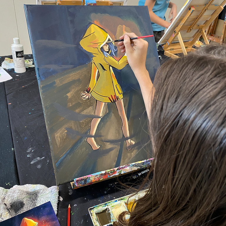 Painting Class - Friday October 1st 9am-12pm (Grades 1+)