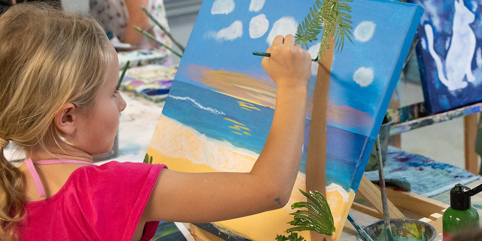 Painting Class Tuesday 7th July 9am - 12pm