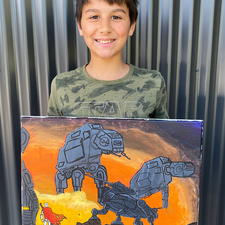 Painting Class - Thursday September 30th 9am-12pm (Grades 1+)