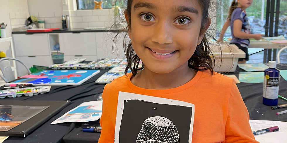 After School Art Class Term 3:  Prep - Grade 2 MONDAYS, 4pm -5pm, Weeks 1-9