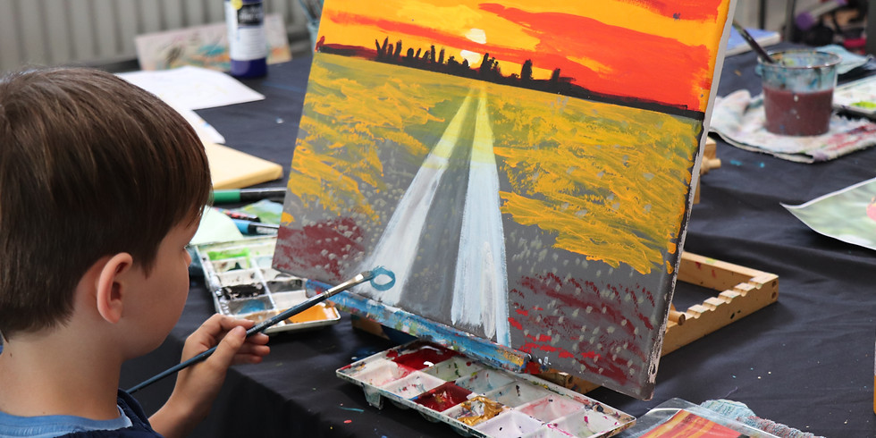 Painting Class Tuesday 15th Dec 1pm - 4pm