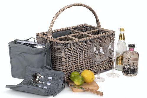 Grey Willow Gin Lovers Basket