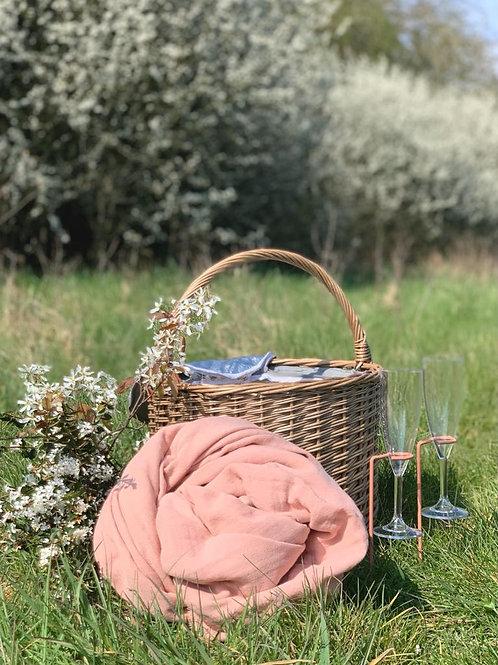Grey Willow Insulated Round Chiller Basket