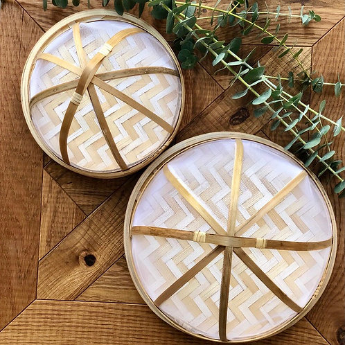 Bamboo Food Cover Set
