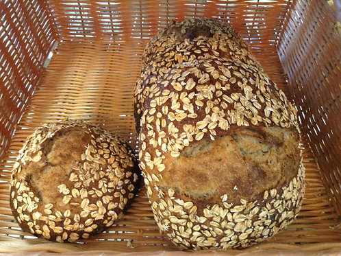 Avoine, lin et miel/Oatmeal, flax and honey bread