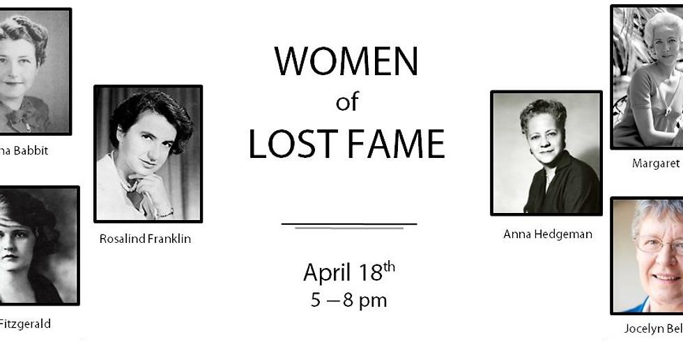 Extraordinary Women Series - Women of Lost Fame
