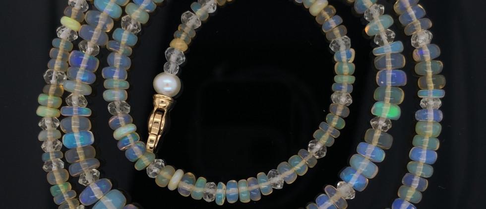 Opal and Quartz Strand