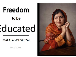 Woman of Freedom - Malala Yousafzai