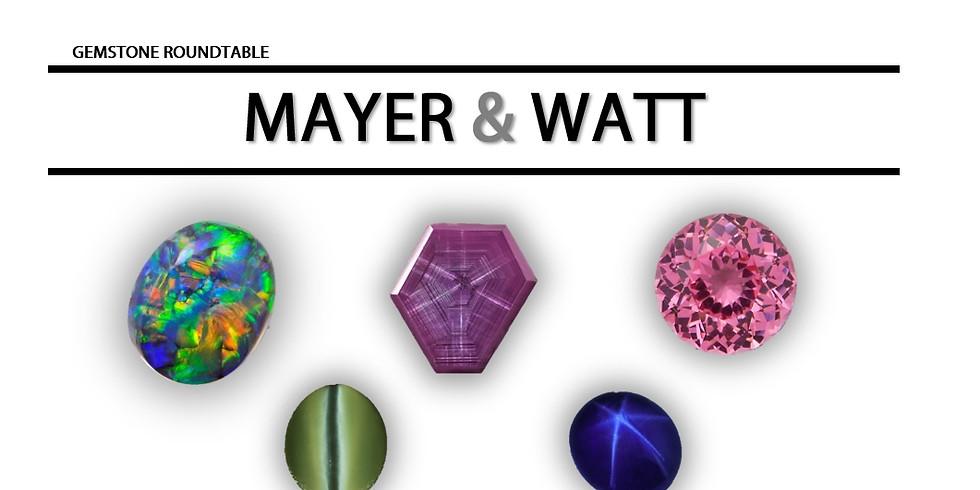 Gemstone Roundtable -Mayer & Watt