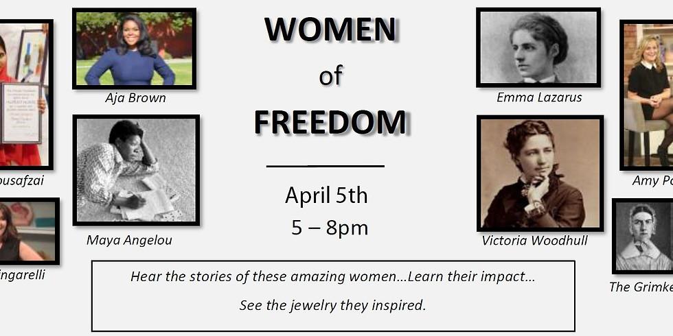 Extraordinary Women - Women of Freedom