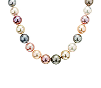 natural colored freshwater pearls
