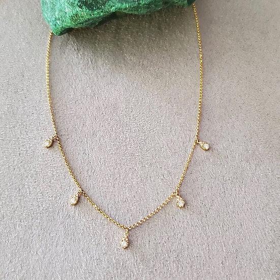 18 karat yellow gold necklace