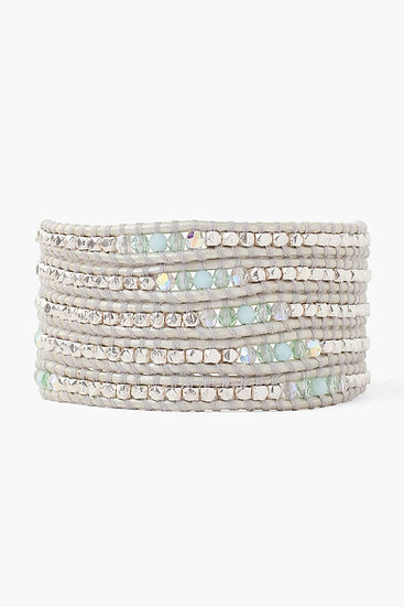 Chan Luu bracelet mint mix Z