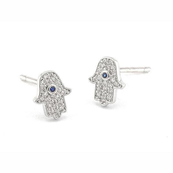 Tai hamsa earrings