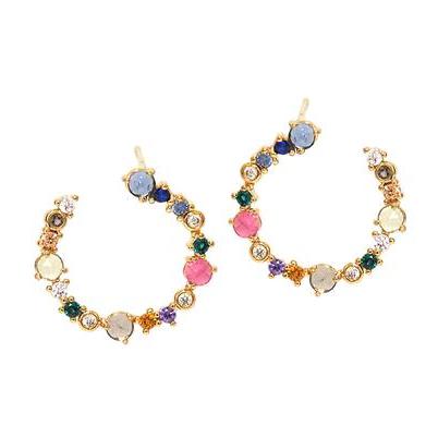 Tai crystal earrings