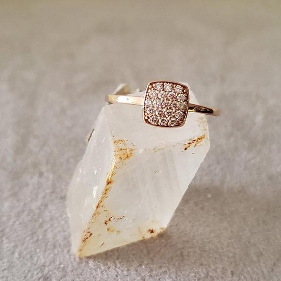 14 karat diamond ring