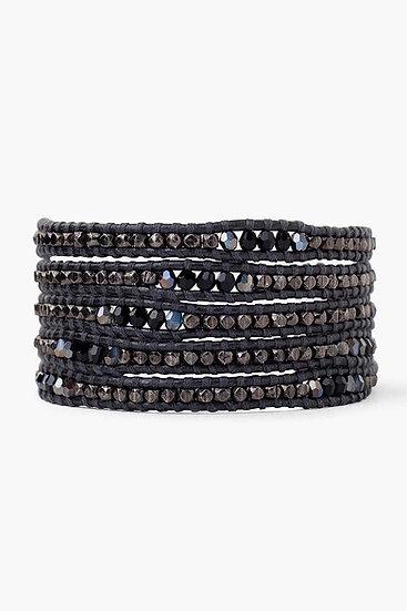Chan Luu bracelet gunmetal mixZ