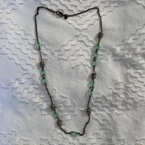 J. Crew | mint necklace