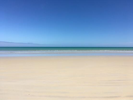 Soothing, serene beach
