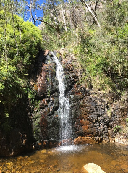 Peaceful waterfall, The Kimberley, WA