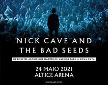 Nick Cave and The Bad Seeds em Lisboa