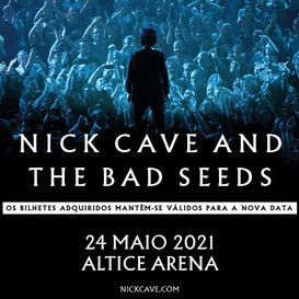 Nick Cave and The Bad Seeds em Lisboa