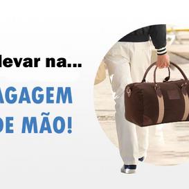 """UMA BAGAGEM DE MÃO """"REDONDINHA"""""""