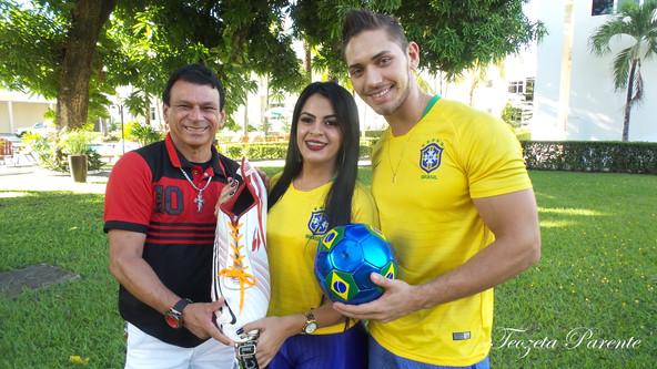 Apresentação do Garoto e Garota da Copa 2018 - Roraima
