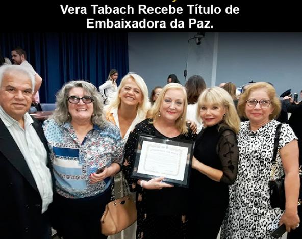 Mulheres que promovem a Paz Mundial são homenageadas em São Paulo