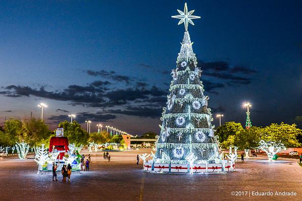 Cidade Luz: Boa Vista fica mais bonita e iluminada com as luzes de natal