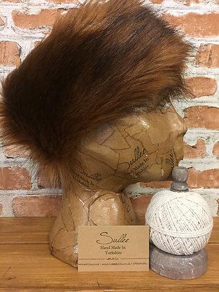 Fox Red Faux Fur Headband