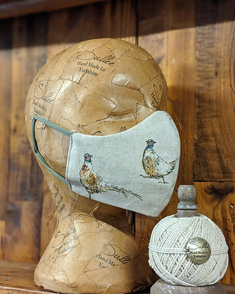 Pheasant Face Mask