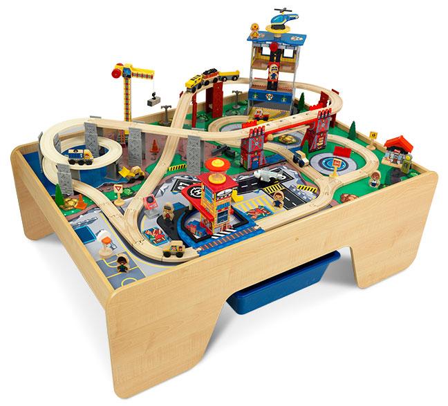 Super City Train Set