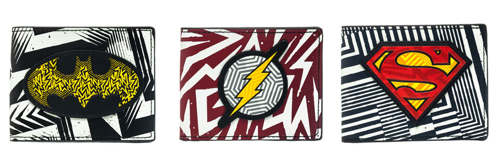 Heroes Vector Pattern Wallets